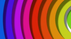 Stock Video Footage of rainbow pop