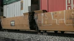 Desert Train 1 Stock Footage