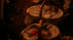 MEXICO, PATZCUARO, CIRCA NOVEMBER 2011: Celebration of Day of the death Stock Footage