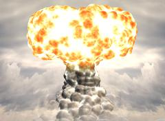 Nuclear bomb Stock Illustration