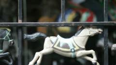 Horse Carousel 1 Stock Footage