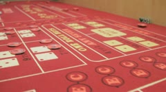 craps game 8 - stock footage