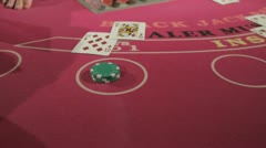 Blackjack 4 Stock Footage