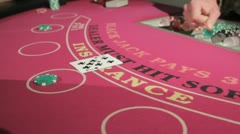 Blackjack 1 Stock Footage