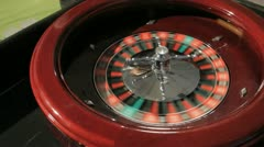 Roulette 1 Stock Footage