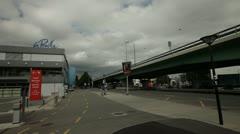 Geneva - LaPraille Shopcentr - Outside-2 Stock Footage