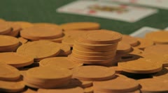 Poker game 6 Stock Footage