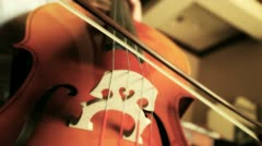Playing Cello 5 Stock Footage