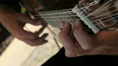 Spanish Guitar - stock footage