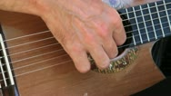 Stock Video Footage of flamenco guitar