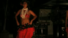 Hula Dancer 4 Stock Footage
