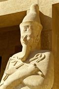 Statue of pharaoh hatshepsut Stock Photos