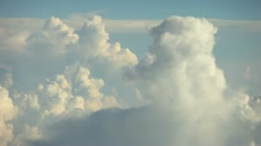 Clouds aerials (4) Stock Footage
