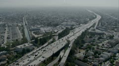 Stock Video Footage of Sprawling city of LA (3)