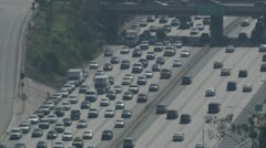 Highway traffic (1) - stock footage