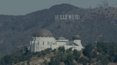 Griffith observatory (2) - stock footage