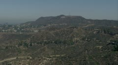 Griffith Park aerial Stock Footage