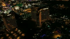 Stock Video Footage of Vegas Aerial 9