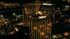 Vegas Aerial 6 - stock footage