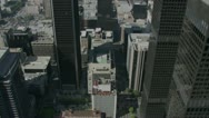 City Buildings  aerial 4 Stock Footage