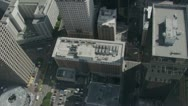 City Buildings aerial  6 Stock Footage