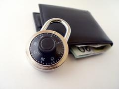 Is your money secure Stock Photos