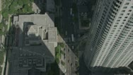 Stock Video Footage of Daytime City  aerial 6