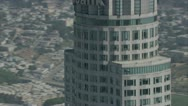 City Buildings aerial  8 Stock Footage