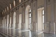 Stock Photo of italy - royal palace: galleria di diana, venaria