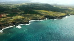 Aerial Hawaii 1 Stock Footage