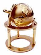 globe of the earth - stock photo