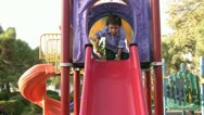 Stock Video Footage of Little boy in playground