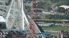 Boston Bridge Stock Footage
