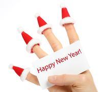 new year subject - stock photo