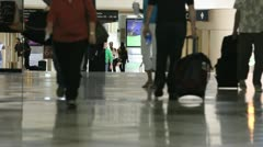 Busy Airport 7 Stock Footage