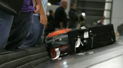 Baggage Claim 3 - stock footage