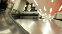 Baggage Claim 4 - stock footage