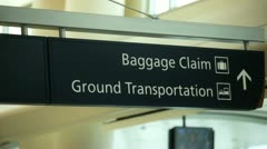 Airport gates 2 Stock Footage