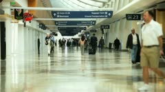 airport gates 1 - stock footage