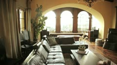 Beautiful home Stock Footage