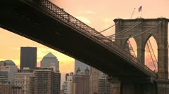 Brooklyn Bridge 5 Stock Footage