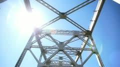 bay bridge pass - stock footage