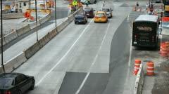 Stock Video Footage of Roadwork 1
