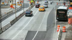 Stock Video Footage of Roadwork 2