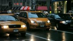City Traffic PM 4 - stock footage