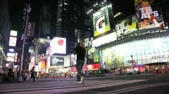 Times Square 12 Stock Footage