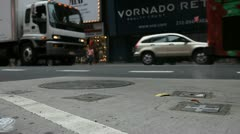 Times Square 21 Stock Footage