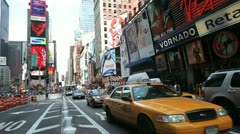 Times Square 23 Stock Footage