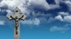 Crucifix Stock Footage