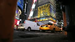 Times Square PM 5 - stock footage